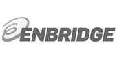 Enbridge logo in gray