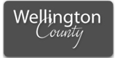 Wellington County logo in gray
